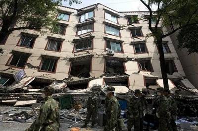 Resultado do terremoto